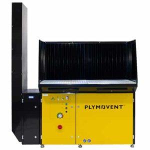 Schweiß- und Schleiftisch mit HEPA-Filtersatz 2