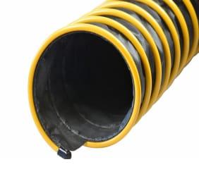 EG Absaugschlauch - Leichter, gut sichtbarer und äußerst beweglicher Abgasschlauch, hergestellt aus hochqualitativem Kompositgewebe.