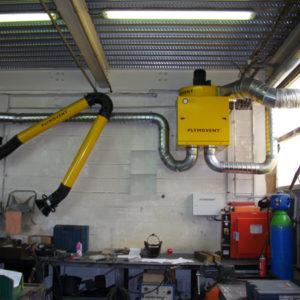 MF-30 installed - Stationärfilter